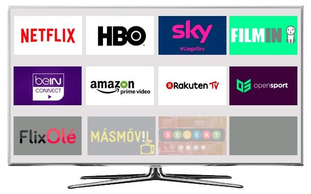 Plataformas de televisión