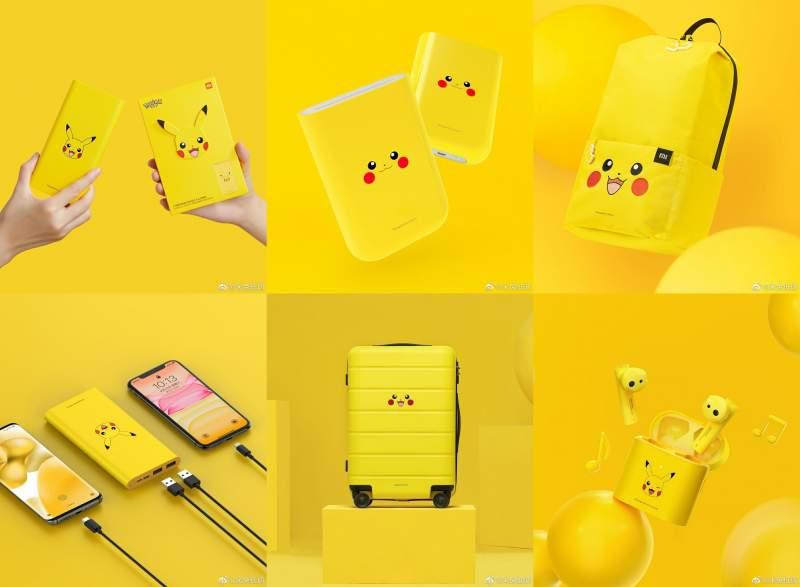 Productos de Xiaomi para los amantes de Pokemon (y Pikachu)