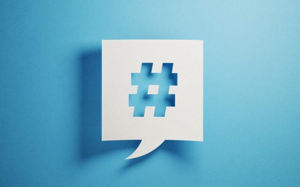 El hashtag