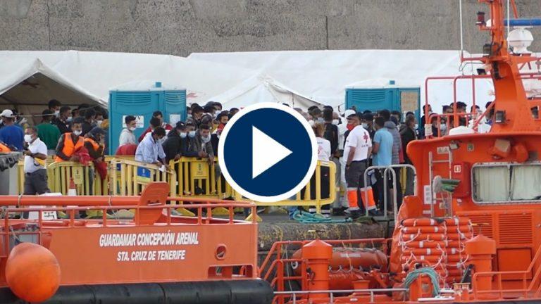Marlaska investigará el desalojo de más de 200 inmigrantes en Canarias