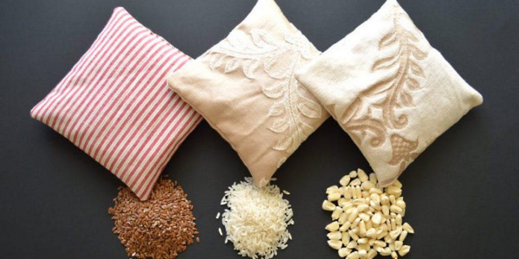 materiales bolsa de semillas microondas
