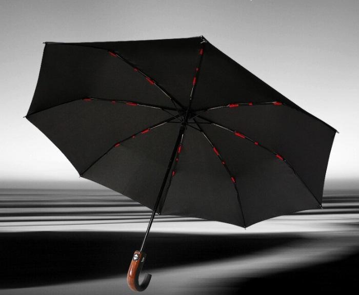 paraguas clásico de estilo inglés