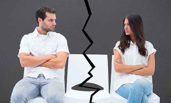 romper pareja