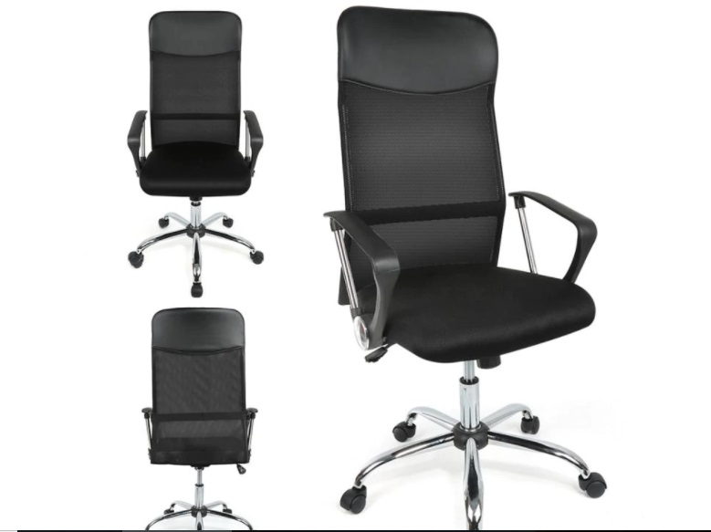 silla con respaldo regulable