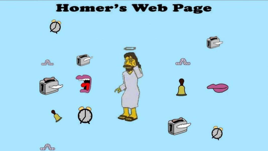 homer webs absurdas raras y adictivas