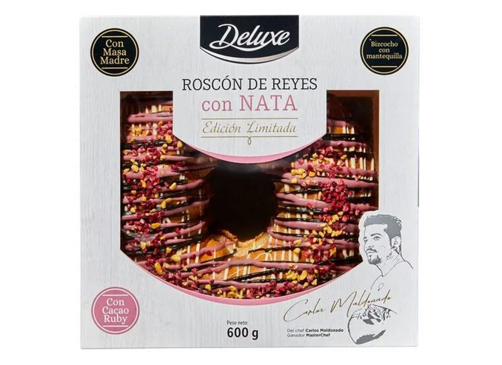 ROSCÓN DE REYES CON NATA DE LIDL