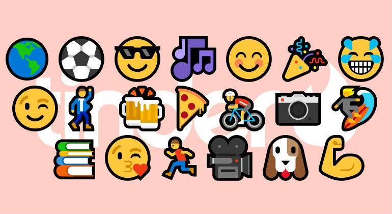 Los emojis en Tinder