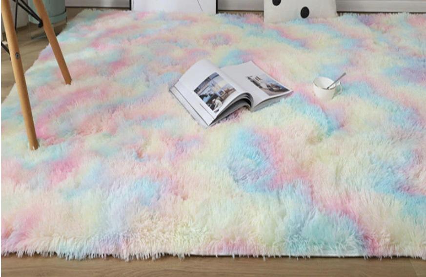 alfombra en color