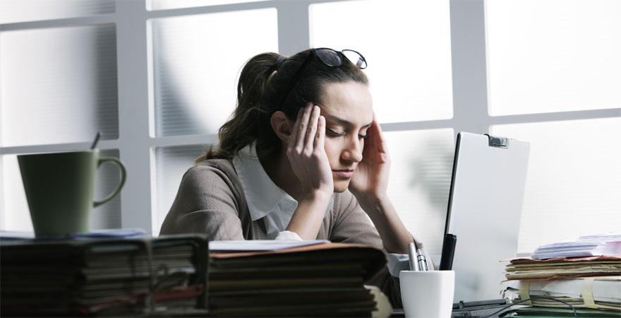 El estrés del trabajo