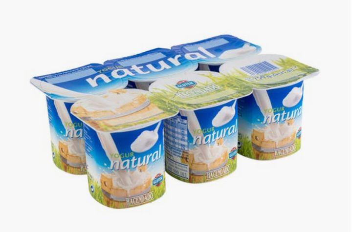 yogur natural mercadona