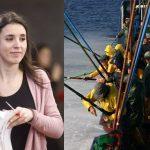 Irene Montero regala a dedo 50.000 euros a una asociación de mujeres pescadoras