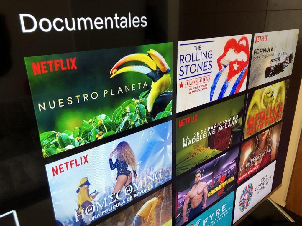 El catálogo de Netflix con tecnología