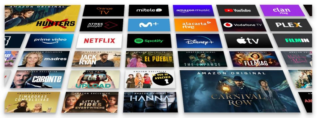 Las plataformas televisivas