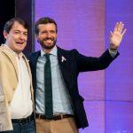 El PP purga de sus discursos a Mañueco, el desleal presidente de Castilla y León