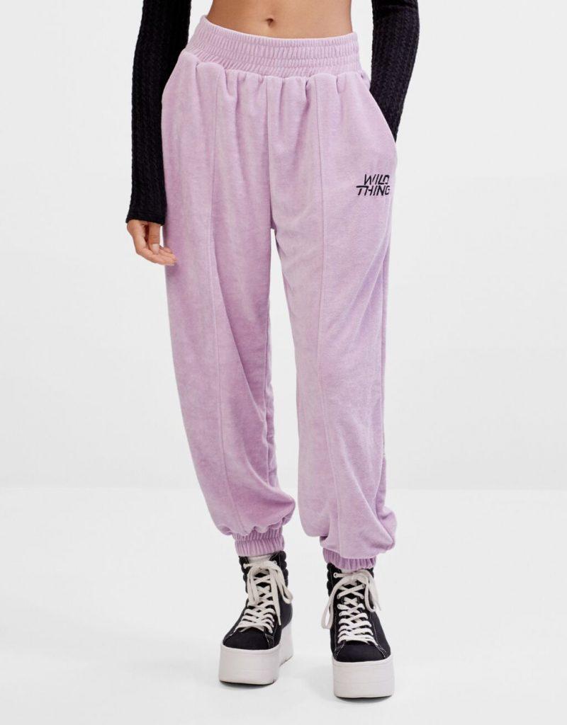 pantalon jogger bershka