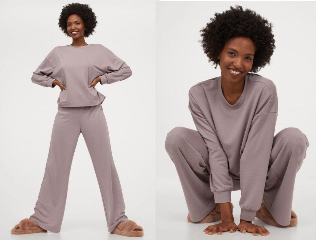 pijama punto fino
