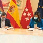 La alcaldesa de Pozuelo y Almeida acuerdan que las aguas pluviales y residuales de Pozuelo se depuren en Madrid