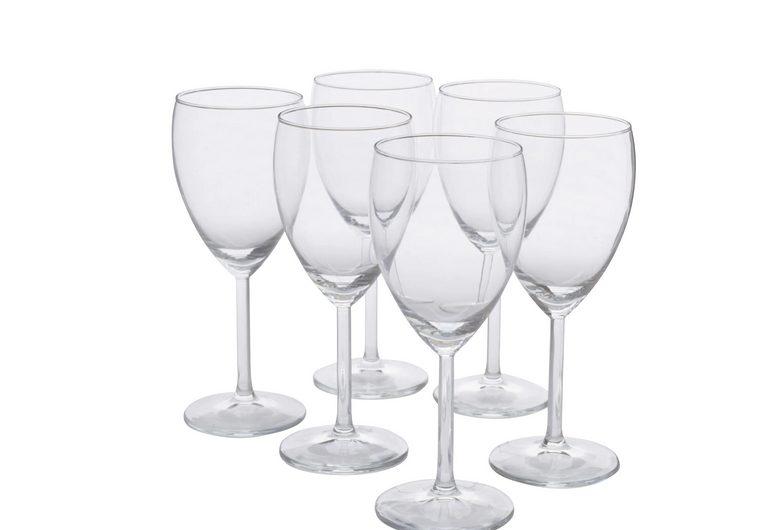 Copas de vino del Ikea