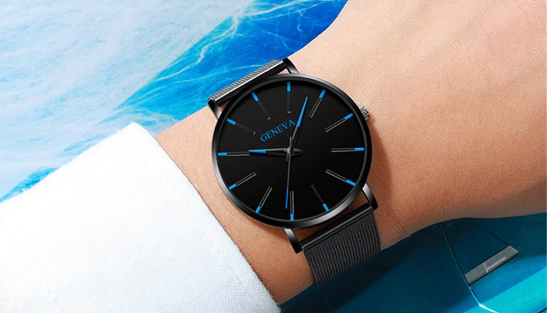 reloj de malla