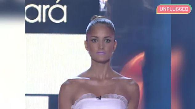 Alba Carrillo desfilando en 'Supermodelo' en 2007.