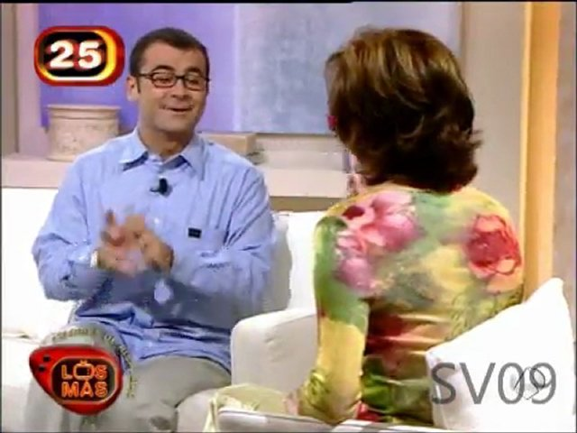 Jorge Javier Vázquez con Ana Rosa