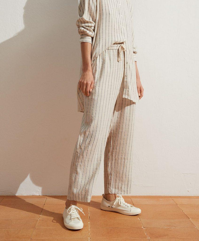 pantalon raya rustica
