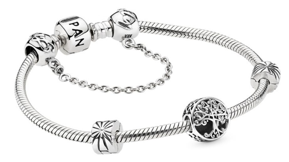 pulsera moments charms