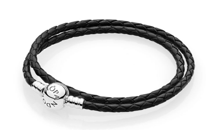 pulsera moments cuero