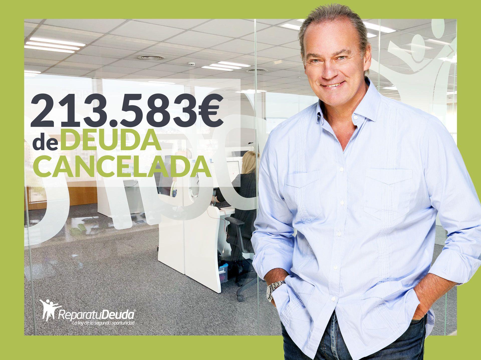 Repara tu Deuda cancela 213.583 ? en Santa Coloma de Gramanet (Barcelona) con la Ley de Segunda Oportunidad