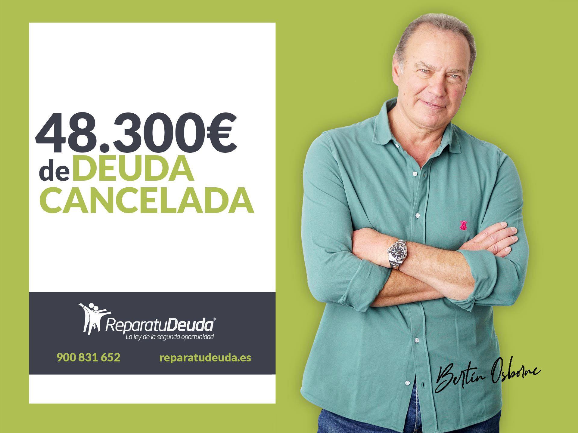 Repara tu Deuda Abogados cancela 48.300 ? en Sabadell (Barcelona) con la Ley de Segunda Oportunidad