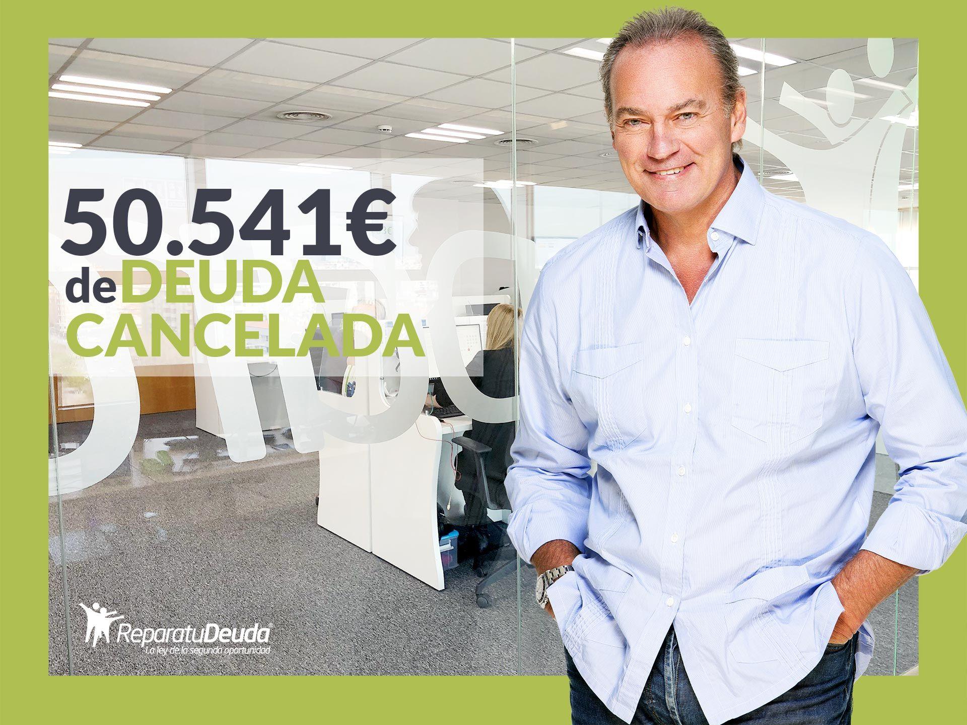 Repara tu Deuda Abogados cancela 50.541 ? en Badajoz (Extremadura) con la Ley de Segunda Oportunidad