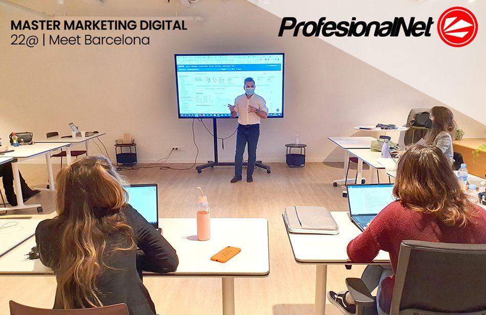 Curso estrategias de marketing digital para emprendedores impartido por Gilberto Ripio