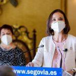La ministra de Industria Reyes Maroto será la vicepresidenta económica de Gabilondo si consigue gobernar