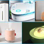 Aliexpress: purificadores de aire y humificadores que cambiarán el ambiente de tu hogar