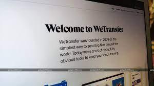 Así es Wetransfer