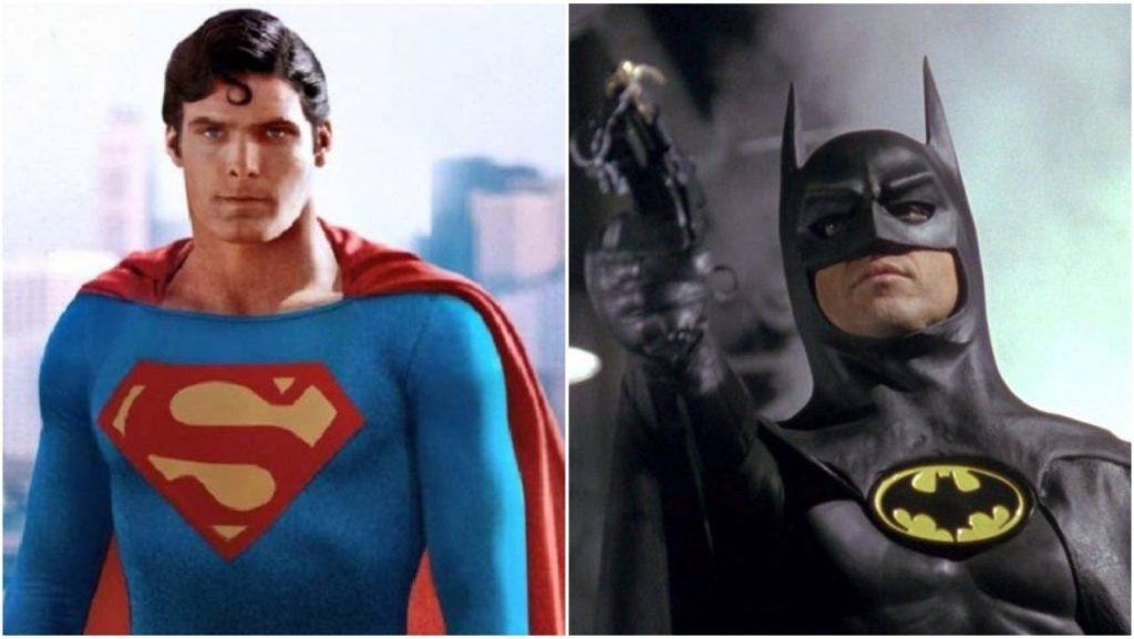 Batman (1996) y Superman (1978) Marvel