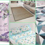Mejores ofertas de Amazon en juegos de sábanas, alfombras y cojines primaverales