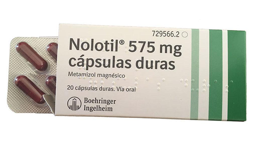 ¿Qué es el Nolotil?