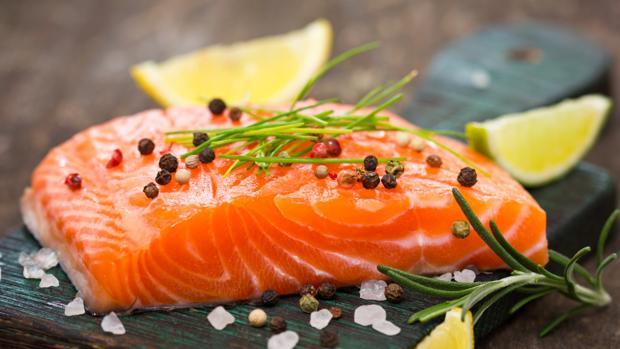 Valores nutricionales del salmón