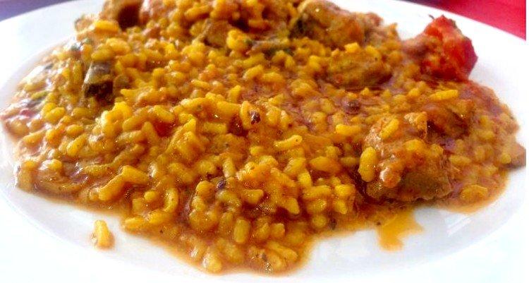 Origen del arroz meloso