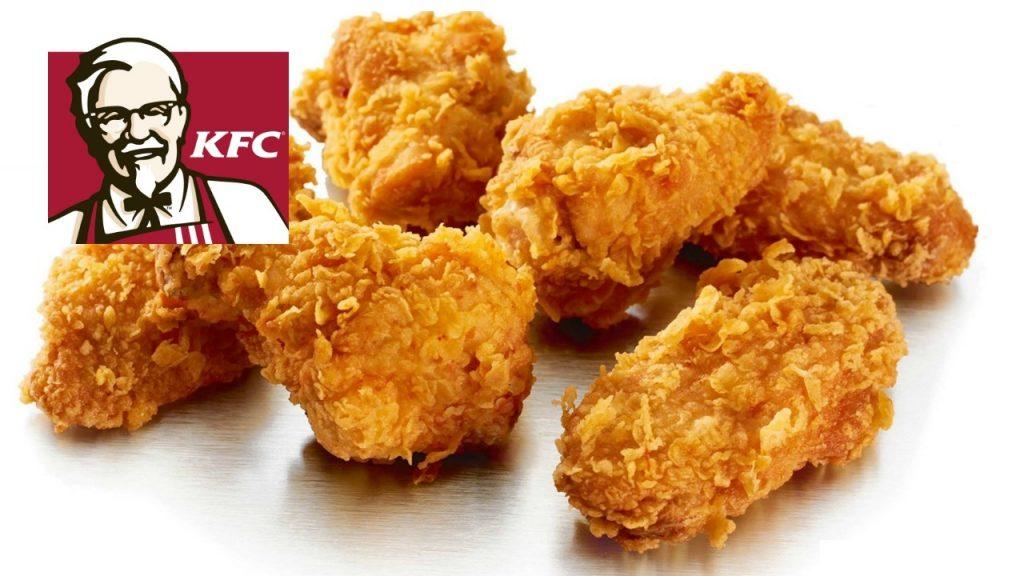 continuacion pollo crispy kfc