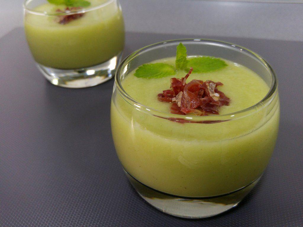 ingredientes gazpacho de melon