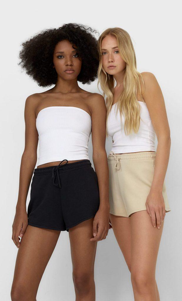 set shorts felpa