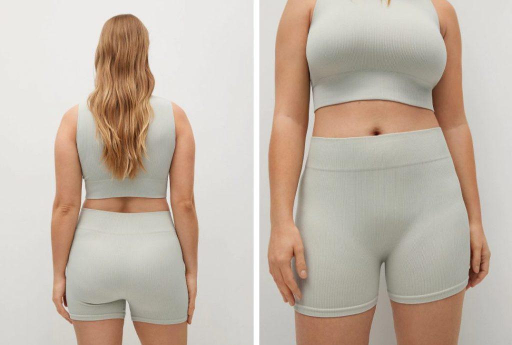 shorts algodon