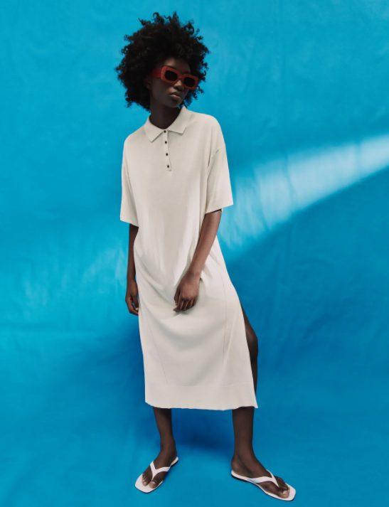 vestido tunica zara