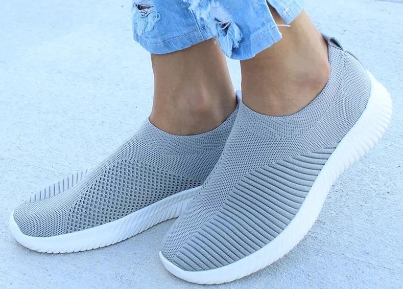 zapatillas de estilo calcetín