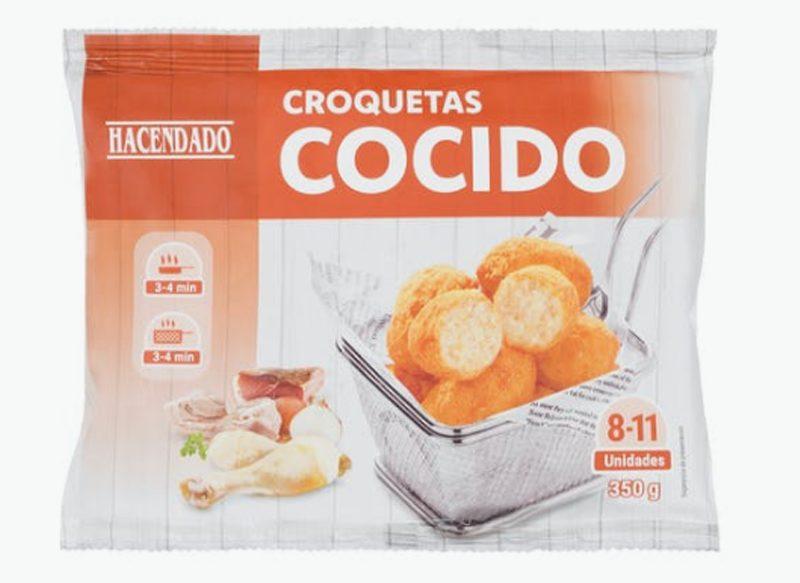 CROQUETAS DE COCIDO HACENDADO