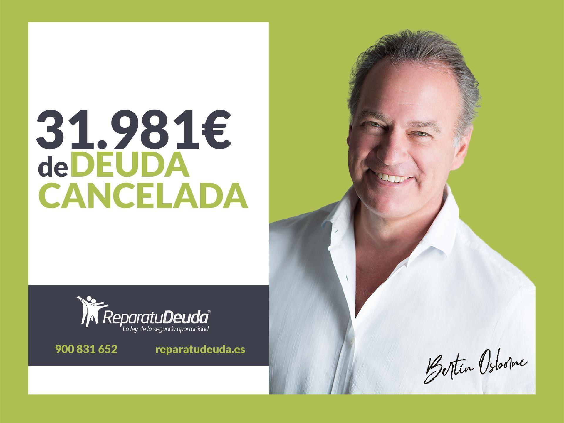 Repara tu Deuda Abogados cancela 31.981 ? en Oviedo (Asturias) con la Ley de la Segunda Oportunidad