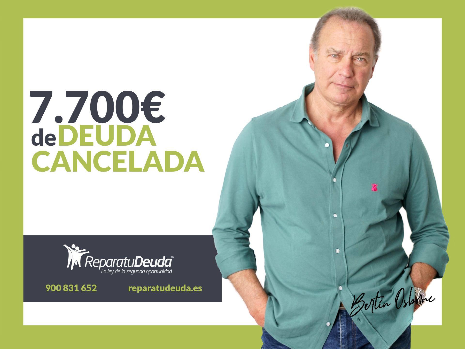 Repara tu Deuda Abogados cancela 7.700? en Oviedo (Asturias) gracias a la Ley de Segunda Oportunidad