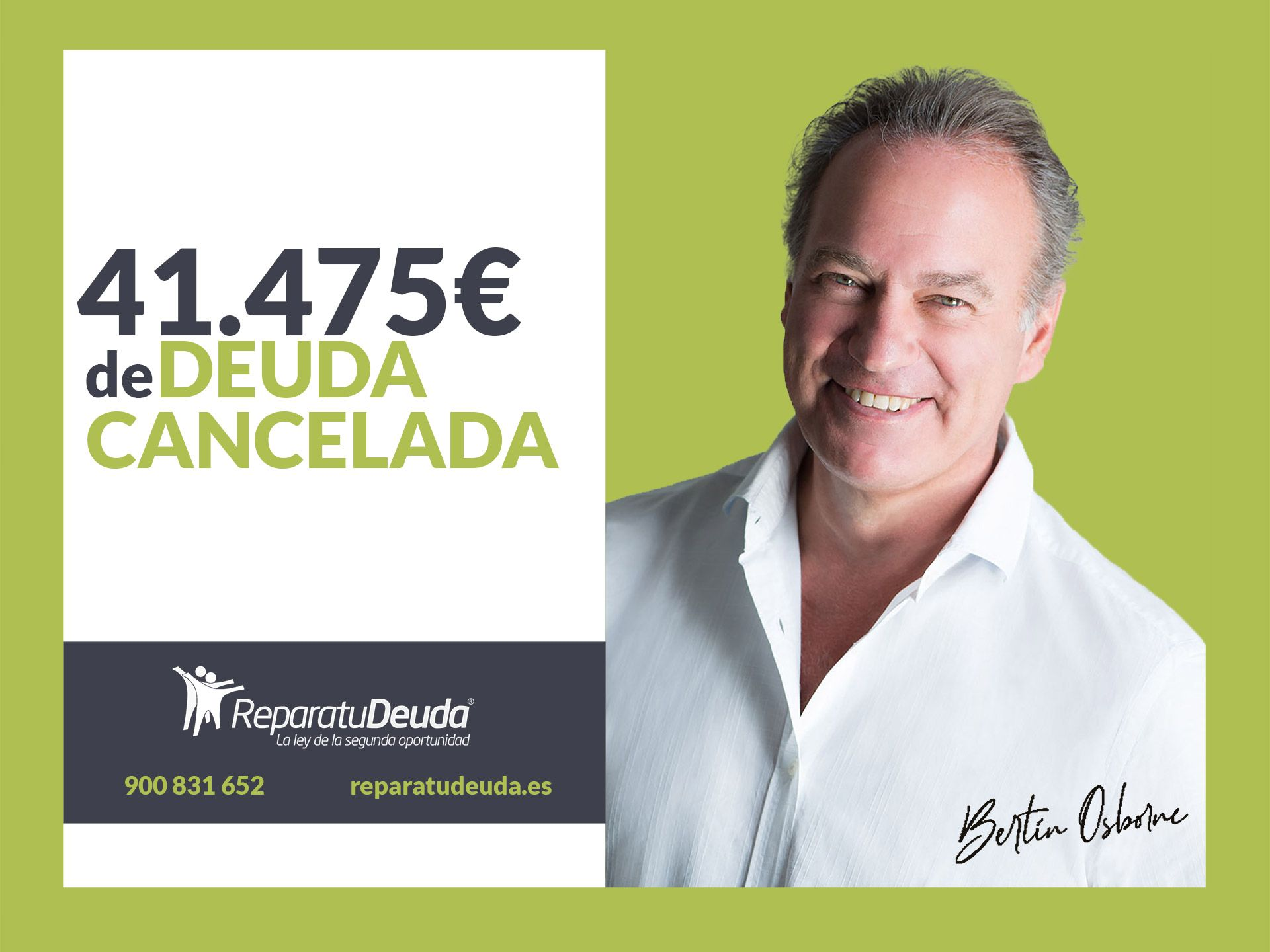 Repara tu Deuda Abogados cancela 41.475 ? en Colmenar Viejo (Madrid) con la Ley de Segunda Oportunidad